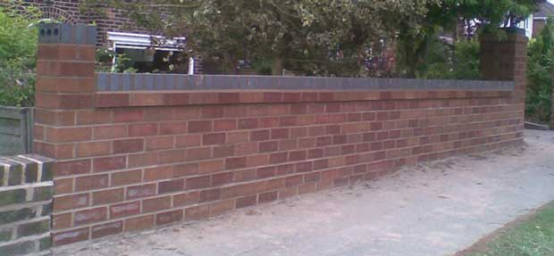 garden wall builders Durham and County Durham